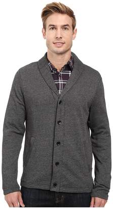 Perry Ellis Shawl Button Front Cardigan Men's Sweater
