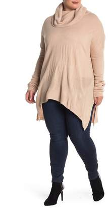 Susina Cowl Neck Tunic (Plus Size)