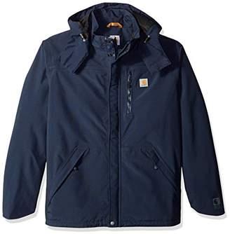 Carhartt Men's Big and Tall Shoreline Jacket Waterproof Breatheable Nylon