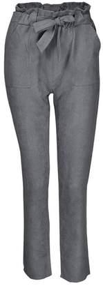 SWPS Women Harem Trousers High Waist Bowtie Elastic Waist Casual Pants Sale