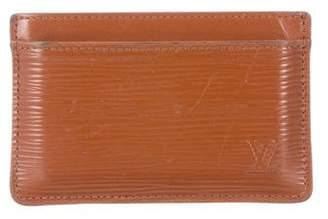 Louis Vuitton Epi Card Holder