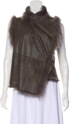 Yves Salomon Fur-Lined Vest