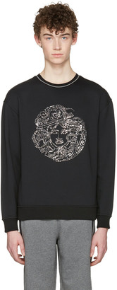 Versace Black Medusa Pullover $825 thestylecure.com