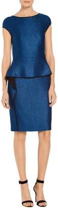 St. John Luster Sequin Knit Dress