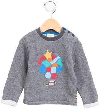 Paul Smith Boys' Graphic Pullover Sweatshirt