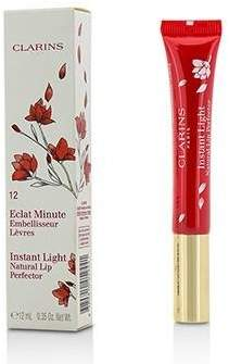 Clarins Eclat Minute Instant Light Natural Lip Perfector - # 12 Red Shimmer - 12ml/0.35oz