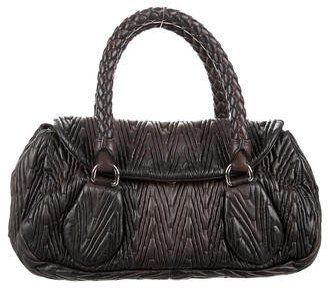 prada Prada Gaufre Antik Handle Bag