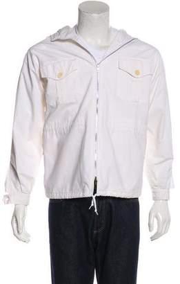 Helmut Lang Vintage Hooded Zip-Up Jacket