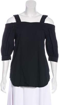 Timo Weiland Woven Off-The-Shoulder Top
