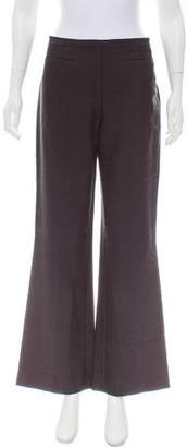 Tory Burch Mid-Rise Wide-Leg Pants w/ Tags