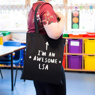 LSA International Ellie Ellie I Am An Awesome Learning Support Assistant Tote Bag