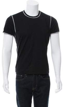 Calvin Klein Collection Contrast Short Sleeve T-Shirt