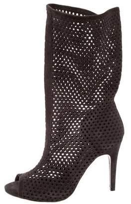 Pedro Garcia Suede Laser Cut Boots