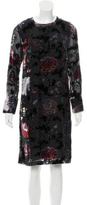 ADAM by Adam Lippes Floral Patterned Silk Dress w/ Tags