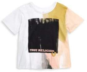 True Religion Little Girl's TR Block Cotton Tee