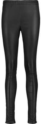Iris & Ink Lila Stretch-Leather Leggings