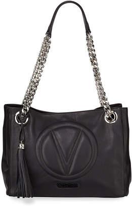 Mario Valentino Valentino By Luisa Sauvage Leather Shoulder Bag