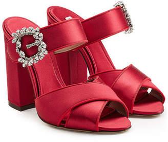 Tabitha Simmons Reyner Satin Sandals
