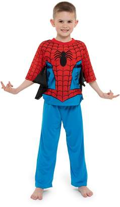 Marvel Spiderman Boys' Toddler 2-Piece Uniform Set with Webbing