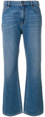 Kenzo flared cropped jeans