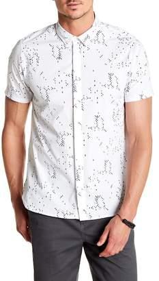 Tavik Bowery Printed Short Sleeve Modern Fit Shirt