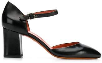 Santoni chunky heel pumps
