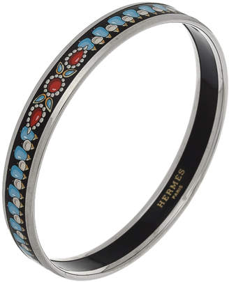 Hermes Enamel Bangle - Vintage
