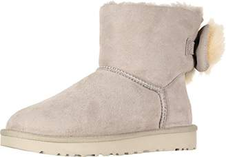 UGG Women's W Fluff Bow Mini Fashion Boot
