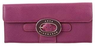 Anya Hindmarch Buckle-Embellished Travel Wallet