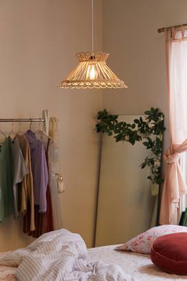 Urban Outfitters Anya Rattan Pendant Light