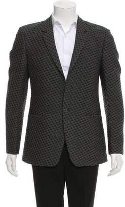 Calvin Klein Collection Textured Two-Button Blazer