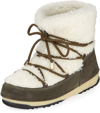 Yves Salomon Curly Mernillo Fur Boots