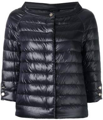 Herno cropped sleeves padded jacket