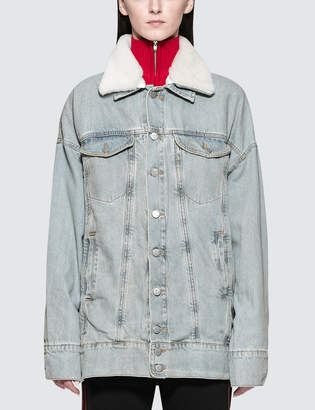 Misbhv Tribal 95' Denim Jacket Blue