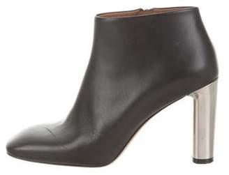 Celine Square-Toe Ankle Boots