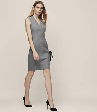 Reiss AUSTIN DRESS TAILORED DRESS Grey