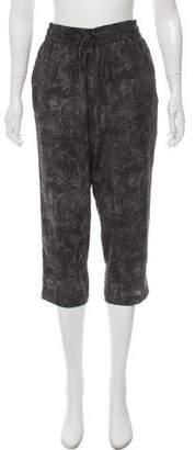 Gary Graham Printed Cropped Pants