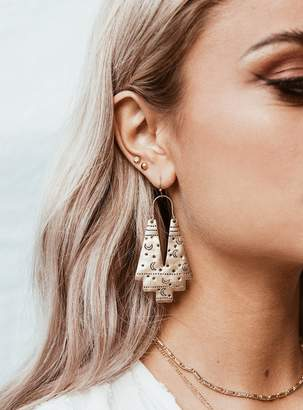Lost Constellation Earrings Gold