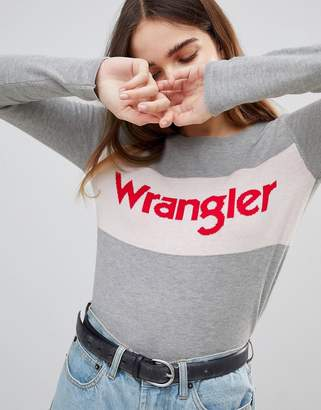 Wrangler Knitted Logo Sweater