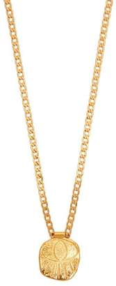Elise Tsikis - Topia Gold Plated Eye Necklace - Womens - Gold