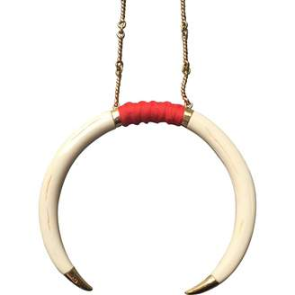 Aurelie Bidermann Gold Metal Necklace