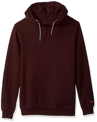 Scotch & Soda Men's Hooded Sweat in Brushed Felpa Quality with Contrast Inside