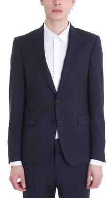 Mauro Grifoni Blue Cotton Suit