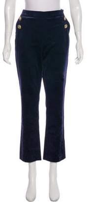 Pierre Balmain Logo-Embellished High-Rise Pants