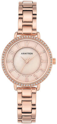 Armitron Womens Gold Tone Bracelet Watch-75/5471tmrg