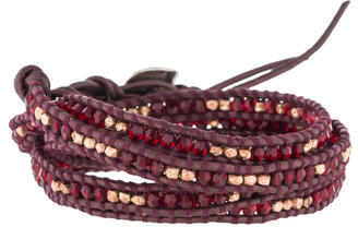 Chan LuuChan Luu Crystal & Bead Wrap Bracelet