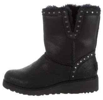 UGG Australia Studded Cyd Ankle Boots $145 thestylecure.com