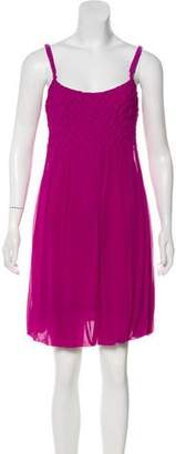 Yoana Baraschi Sleeveless Knee-Length Dress