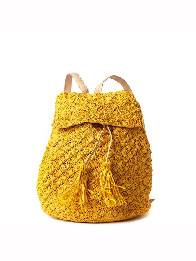 Mar y Sol Zadie Crocheted Backpack