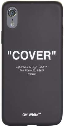 Off-White Off White Cover Quote iPhone X Case